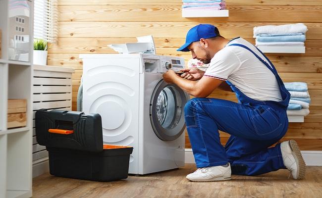 Máy giặt Sanyo báo lỗi EC