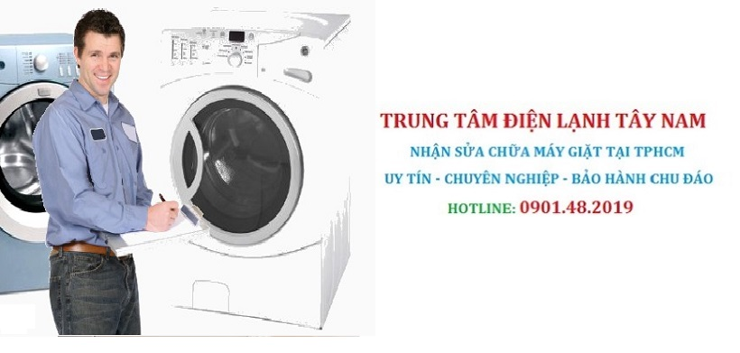 Sửa máy giặt uy tín tại Quận Bình Tân
